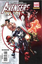 Avengers Invaders #7 Pasqual Ferry Retail Variant 1:25 (2008) Alex Ross Marvel comic book